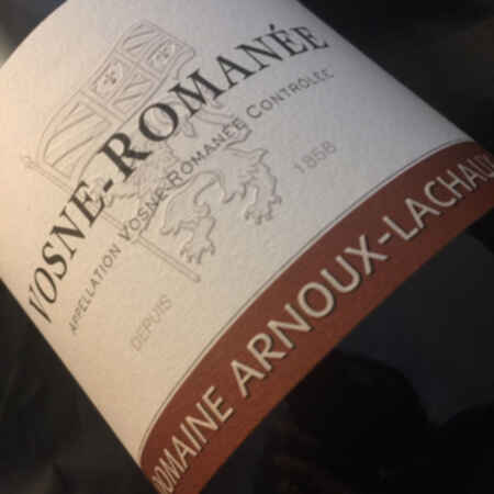 Arnoux-lachaux Chambolle Musigny 2014