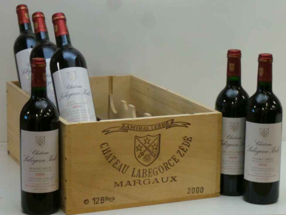 Chateau Labegorce Zede 2000