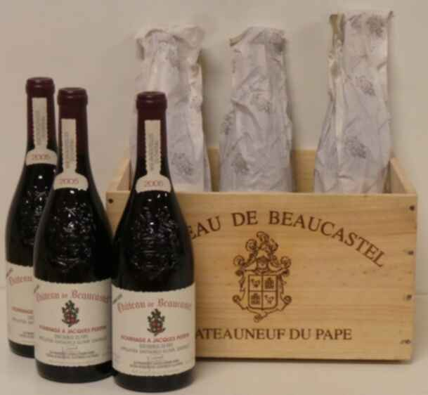 Beaucastel Chateauneuf Du Pape  Hommage A Jacques Perrin 2005