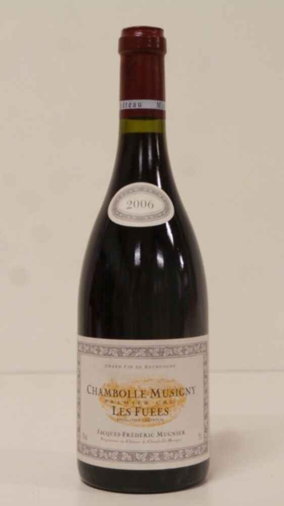 Frederic Mugnier Chambolle Musigny Les Fuees 2006