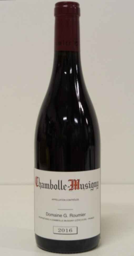G. Roumier Chambolle Musigny 2016
