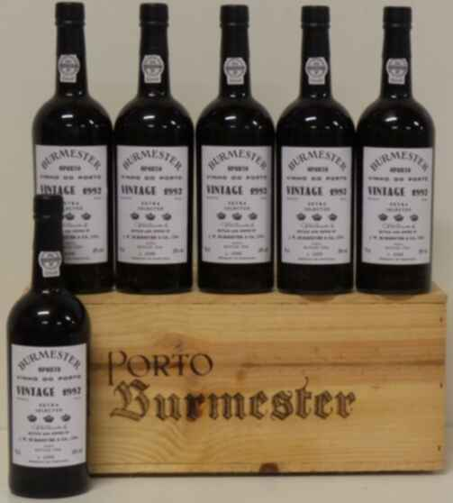Burmester Vintage Port Extra Selected 1992