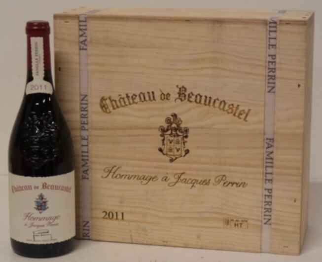 Beaucastel Chateauneuf Du Pape  Hommage A Jacques Perrin 2011