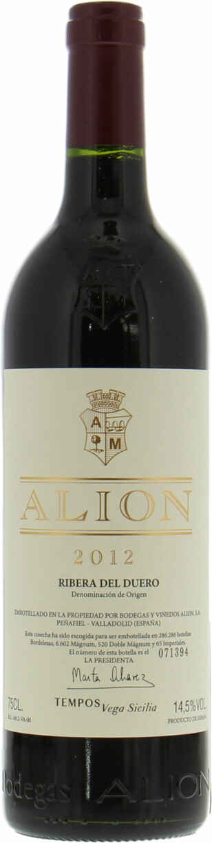 Alion Bodegas Alion 2012