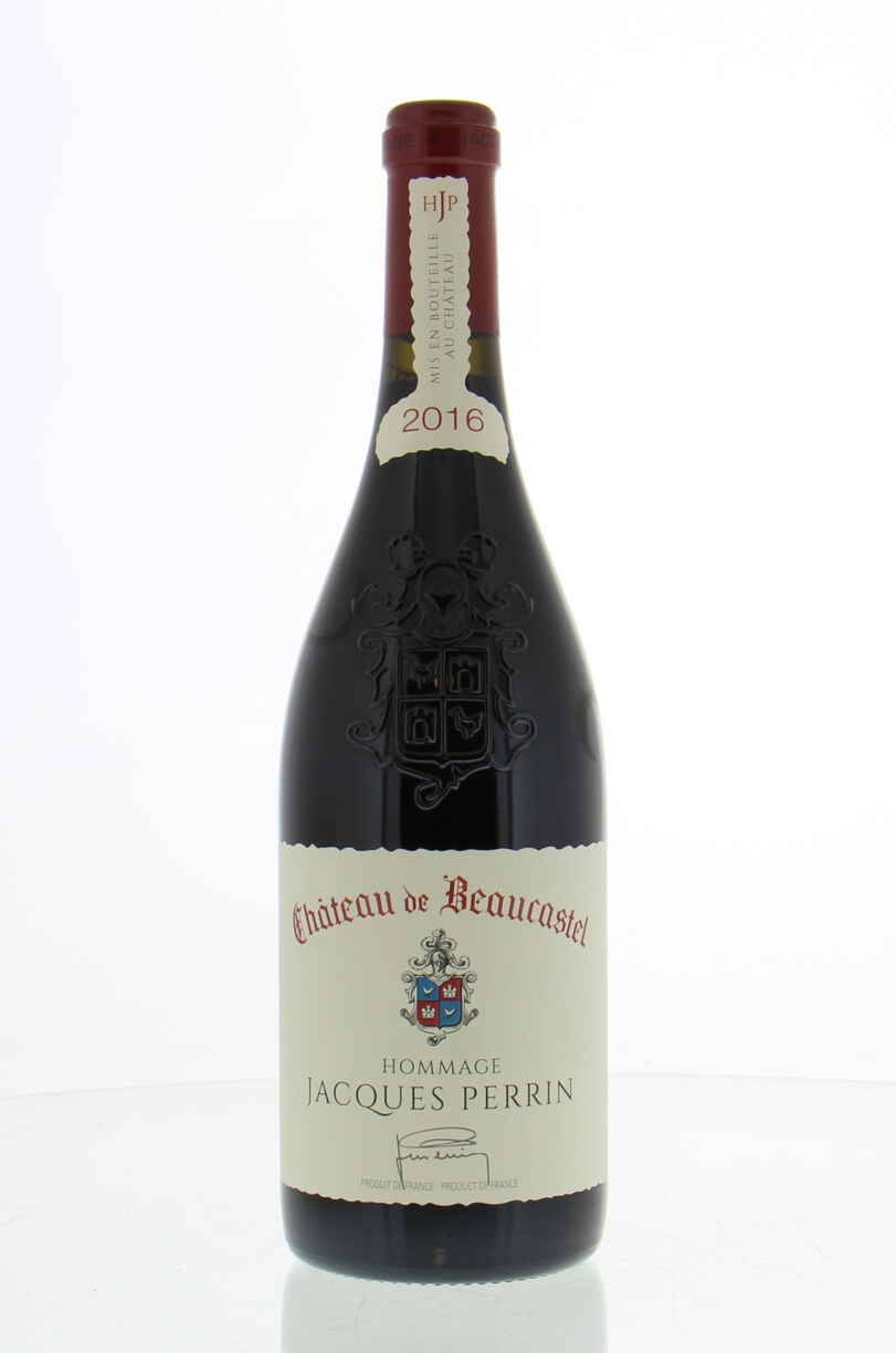 Beaucastel Chateauneuf Du Pape  Hommage A Jacques Perrin 2016