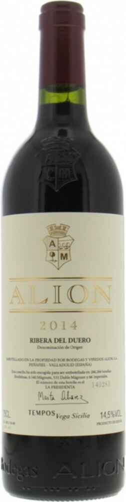 Alion Bodegas Alion 2014