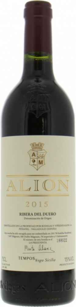 Alion Bodegas Alion 2015