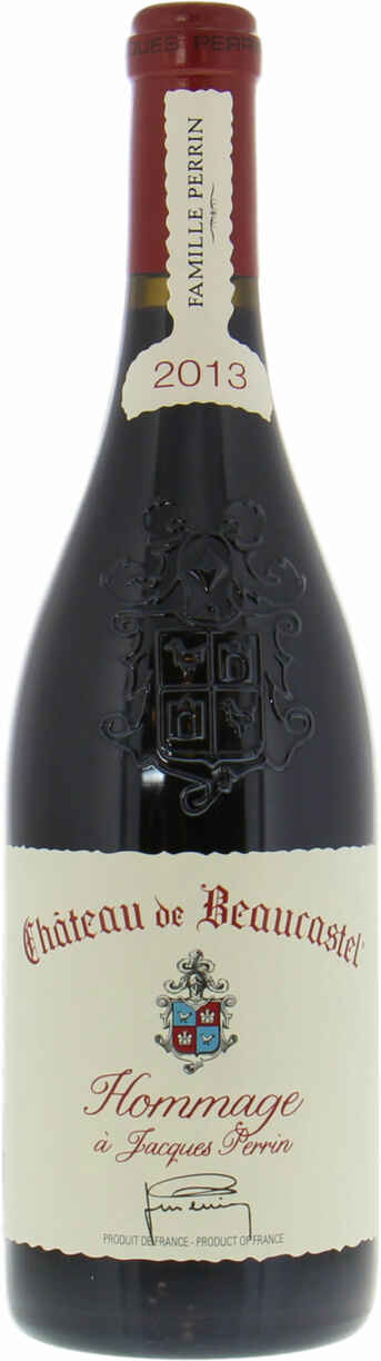 Beaucastel Chateauneuf Du Pape  Hommage A Jacques Perrin 2013