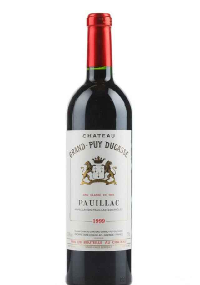 Chateau Grand Puy Ducasse 1999