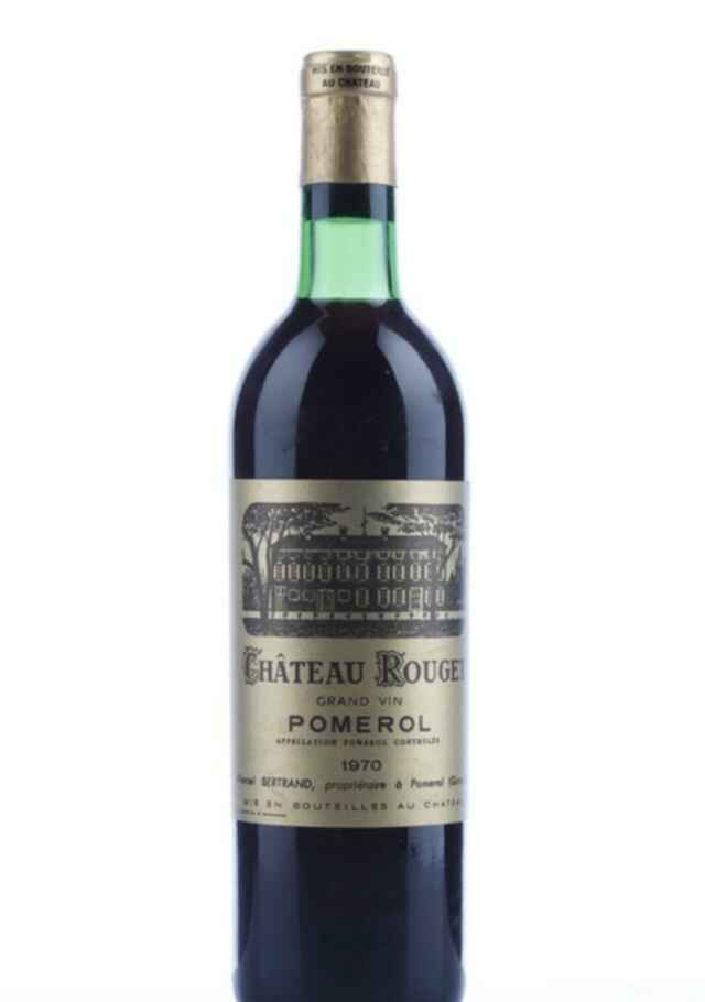 Chateau Rouget 1970