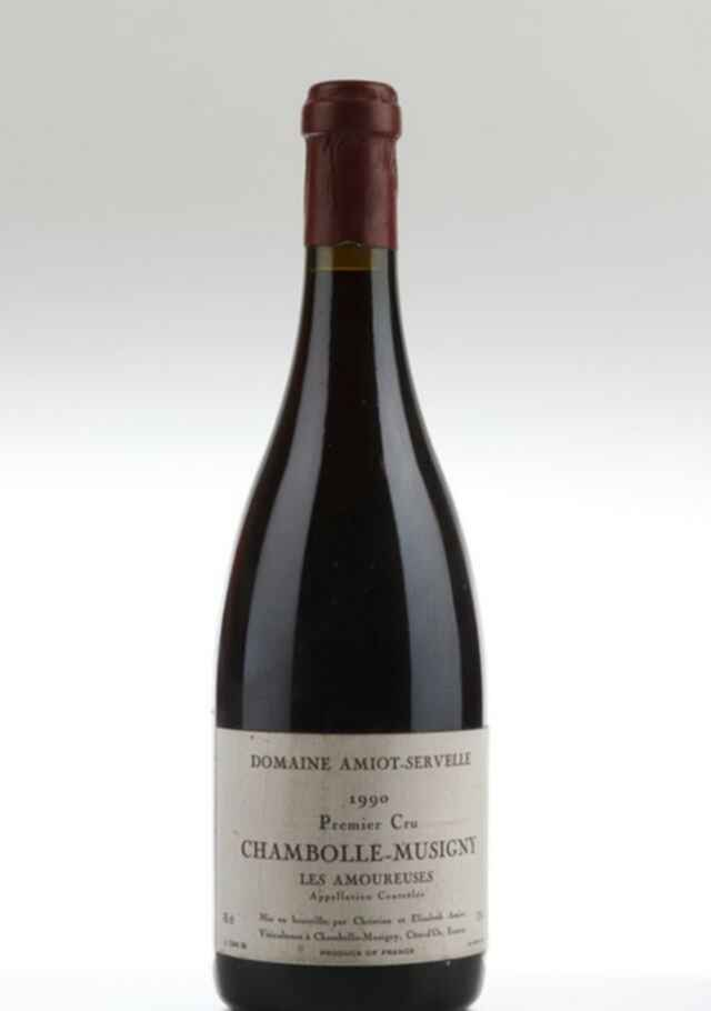 Amiot Servelle Chambolle Musigny Les Amoureuses 1990