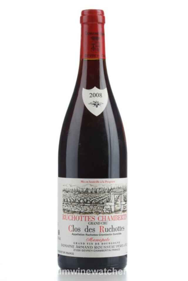 Armand Rousseau Ruchottes Chambertin Clos Des Ruchottes 2008