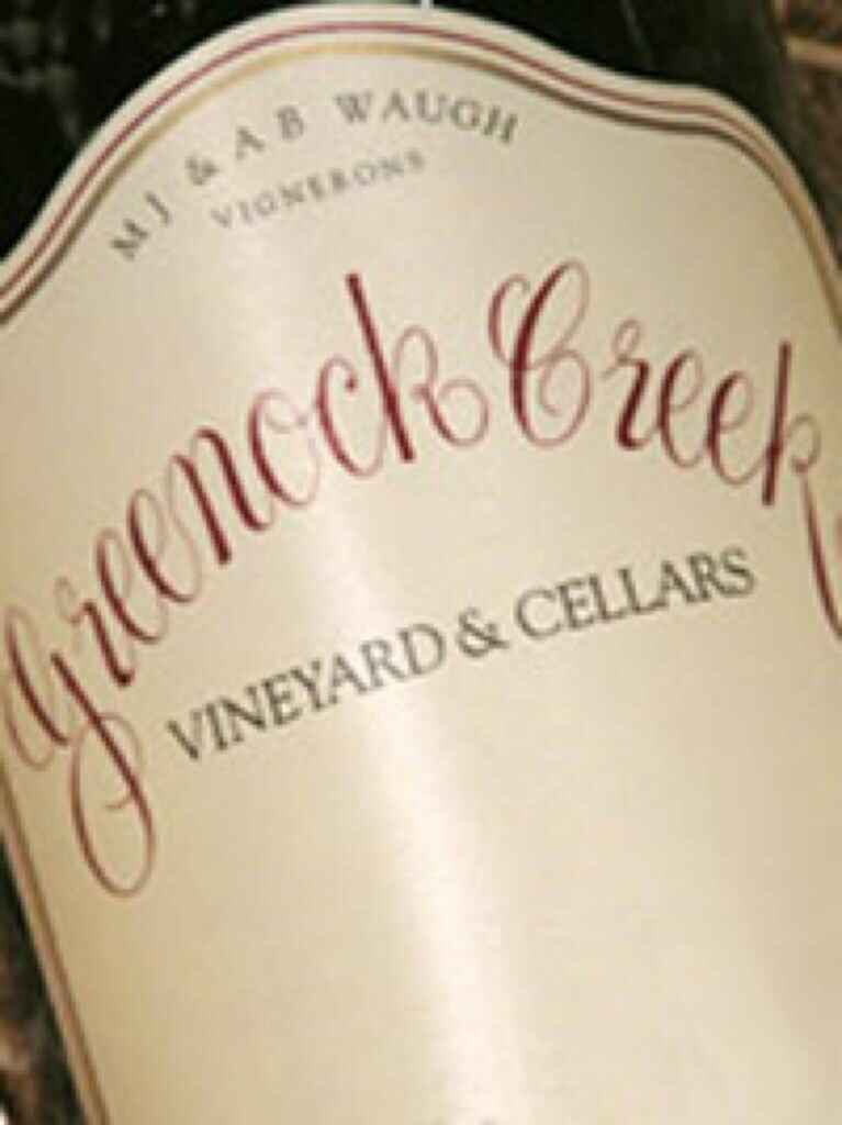 Greenock Creek Cornerstone Grenache 2007