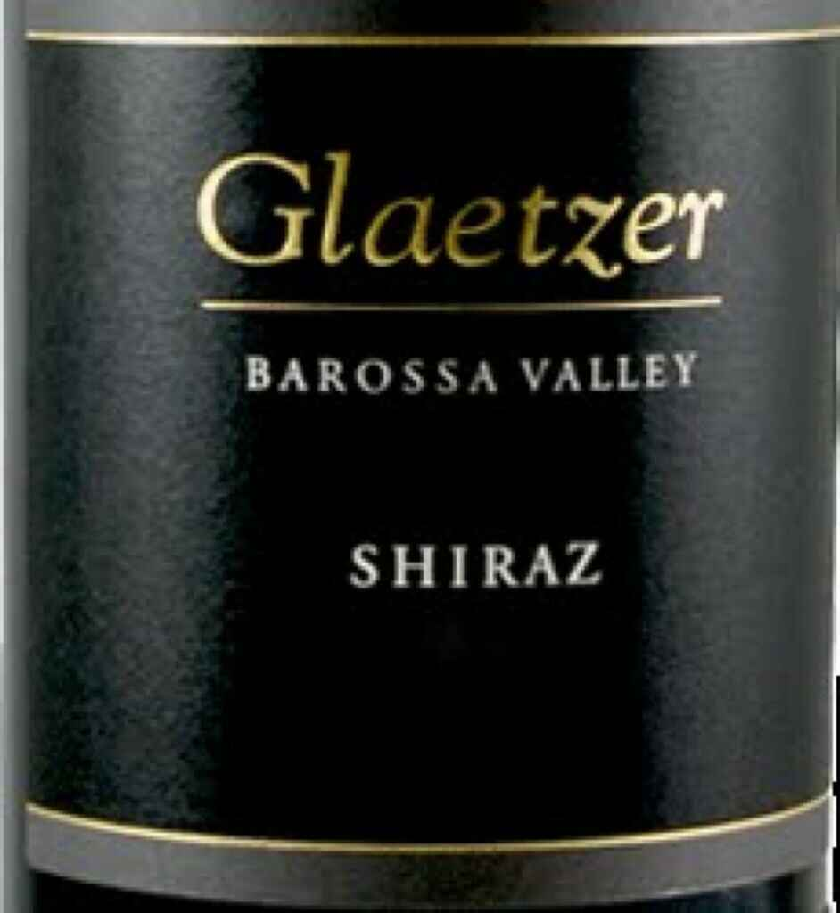 Glaetzer Heartland Wines Shiraz 2001
