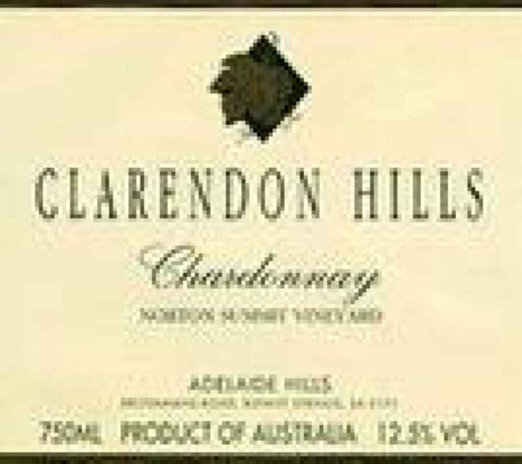 Clarendon Hills Chardonnay Norton Summit 1997