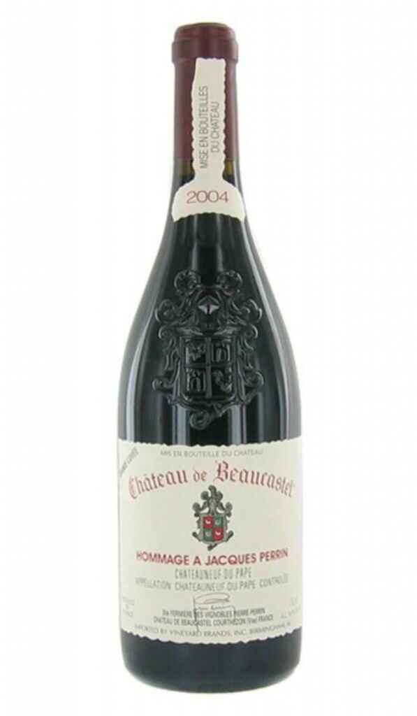 Beaucastel Chateauneuf Du Pape Hommage A Jacques Perrin 2004