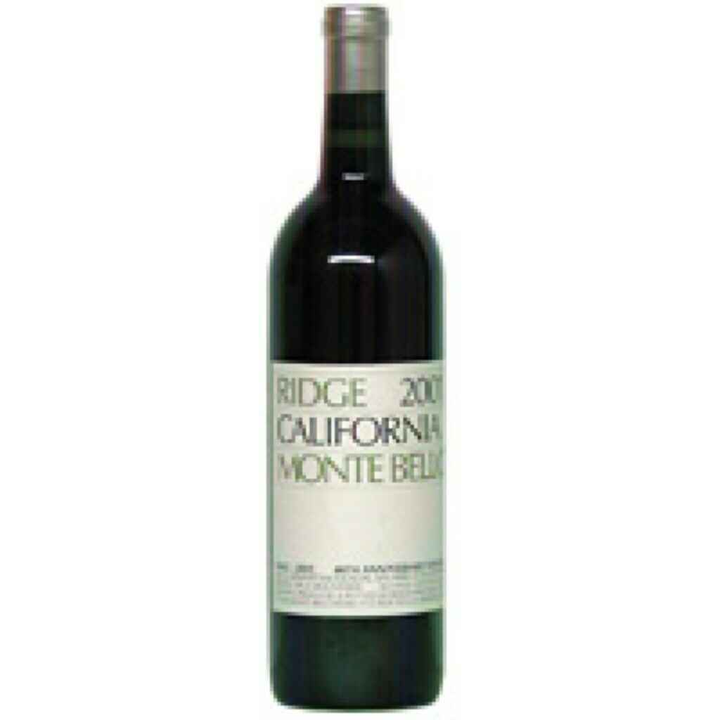 Ridge Vineyards Cabernet Sauvignon Monte Bello 2000