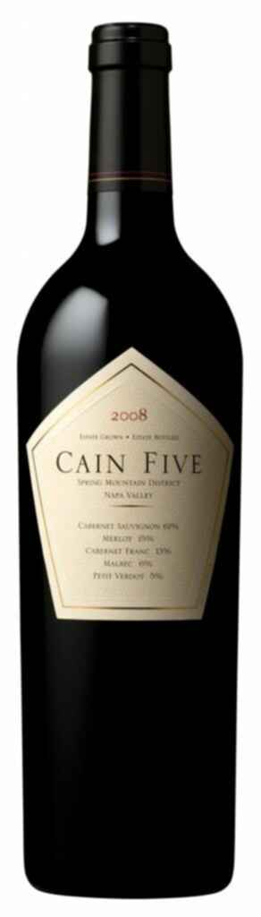 Cain Five Cain Wines 2008