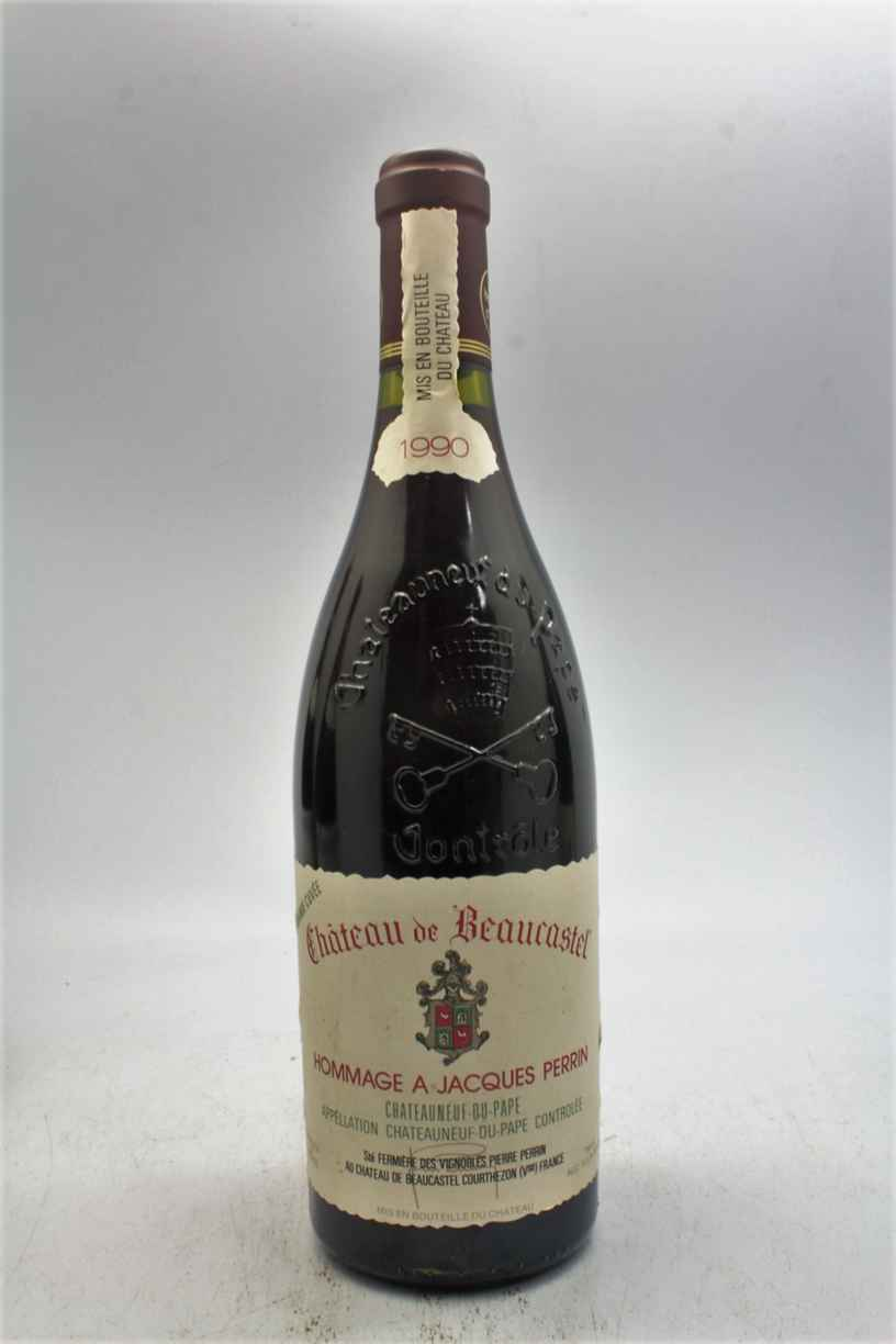 Beaucastel Chateauneuf Du Pape  Hommage A Jacques Perrin 1990