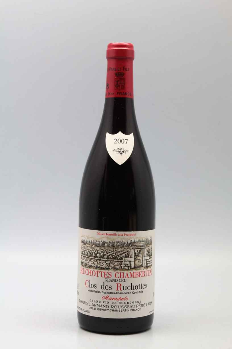 Armand Rousseau Ruchottes Chambertin Clos Des Ruchottes 2007