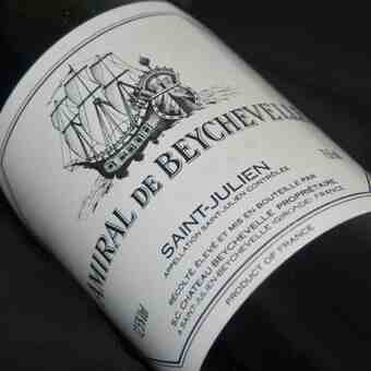 Chateau Beychevelle , Amiral De Beychevelle , 1981