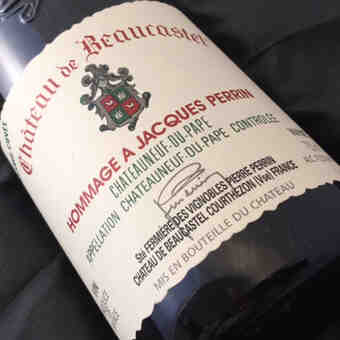 Beaucastel , Chateauneuf Du Pape  Hommage A Jacques Perrin , 2013