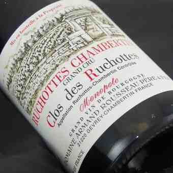 Armand Rousseau , Ruchottes Chambertin Clos Des Ruchottes , 2010