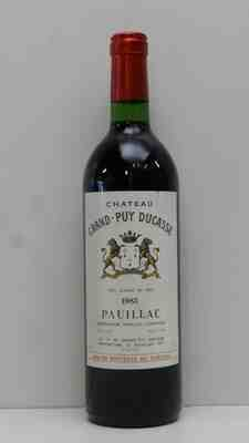 Chateau Grand Puy Ducasse 1983