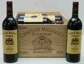 Chateau malescot st. exupery 2002