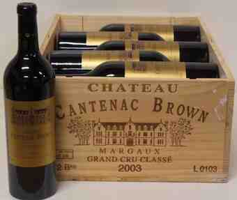 chateau cantenac brown 2003