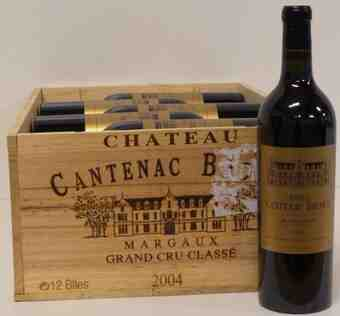 chateau cantenac brown 2004