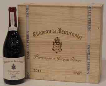 Beaucastel , Chateauneuf Du Pape  Hommage A Jacques Perrin , 2011