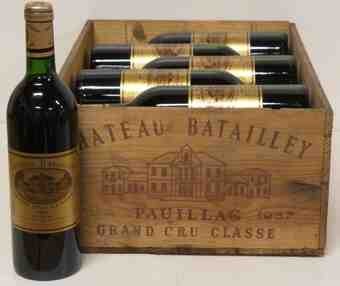 Chateau batailley 1987