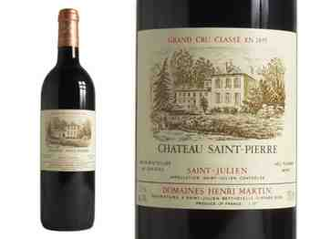Chateau Saint-pierre 2005