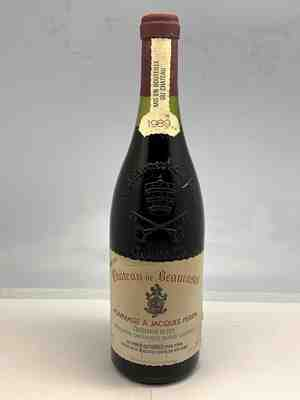 Beaucastel , Chateauneuf Du Pape  Hommage A Jacques Perrin , 1989