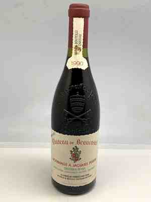 Beaucastel , Chateauneuf Du Pape  Hommage A Jacques Perrin , 1990